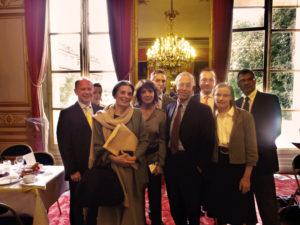 15 Septembre 2010 : petit-déjeuner du Club de l'Audace au Sénat avec la fondation Greffe de Vie en présence de Marie-Thérèse HERMANGE, sénateur de Paris et Stéphanie FUGAIN, présidente de l'Association Laurette Fugain