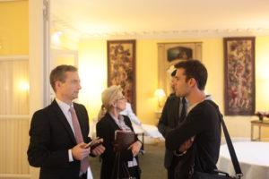 9 novembre 2010 : petit-déjeuner du Club de l'Audace à l'Assemblée nationale avec Tristan LECOMTE, fondateur d'Alter Eco