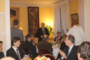 4 février 2011 : petit-déjeuner du Club de l'Audace à l'Assemblée Nationale avec Jean-Bertrand DRUMMEN, président de la Conférence générale des Juges consulaires de France