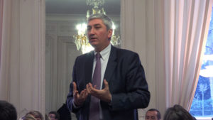 19 janvier 2011 : petit-déjeuner du Club de l'Audace au Sénat avec Christian BLANC, président de Cimbéton