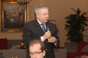7 avril 2011 : petit-déjeuner du Club de l'Audace à l'Assemblée nationale avec Xavier RAUFER, Directeur des études du Département de recherche sur les menaces criminelles contemporaines, Université Paris II