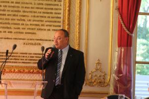1er juillet 2011 : petit-déjeuner du Club de l'Audace au Sénat avec Marcel BOTTON, PDG de Nomen