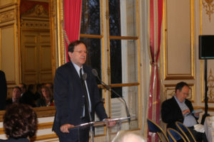 5 janvier 2012 : petit-déjeuner du Club de l'Audace au Sénat avec Hervé NOVELLI, ancien ministre, secrétaire général-adjoint de l'UMP