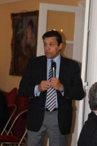 14 février 2012 : petit-déjeuner du Club de l'Audace à l'Assemblée nationale avec Xavier BEULIN, président de la FNSEA