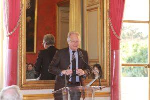 20 mars 2012 : petit déjeuner du Club de l'Audace au Sénat avec Jean-François ROUBAUD, président de la CGPME