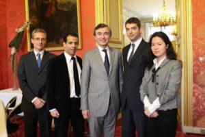 26 juin 2012 : petit-déjeuner du Club de l'Audace avec Philippe DOUSTE-BLAZY, Secrétaire général adjoint de l'ONU et président d'UNITAID