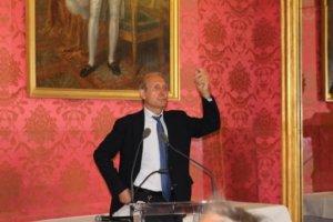 4 juillet 2012 : petit-déjeuner du Club de l'Audace avec Jean-Louis GUIGOU, Délégué général de l'Institut de Prospective Économique du Monde méditerranéen, IPEMED