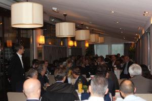 11 octobre 2012 : petit-déjeuner du Club de l'Audace avec Philippe GOULLIAUD, Rédacteur en chef, chef du service politique du Figaro
