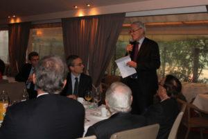 20 novembre 2012 : petit-déjeuner du Club de l'Audace avec Jean-Bernard LEVY, ex-président de Vivendi