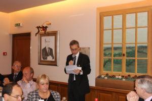6 décembre 2012 : petit-déjeuner du Club de l'Audace avec Patrice GOLLIER, directeur général du Groupe InVivo