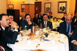 15 janvier 2013 : petit-déjeuner du Club de l'Audace avec Grégoire LASSALLE, PDG d'AlloCiné