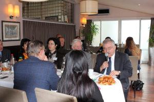 28 mars 2013 : petit-déjeuner du Club de l'Audace avec Son Excellence Monsieur Tahsin BURCUOGLU, Ambassadeur de Turquie en France