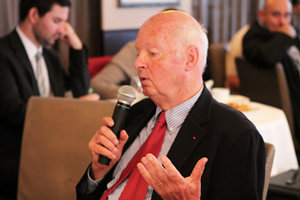 18 septembre 2013 : petit-déjeuner du Club de l'Audace avec Didier SICARD, coordinateur de la Commission chargée de réfléchir aux modalités d'assistance au décès pour les personnes en fin de vie