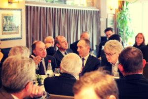 20 novembre 2013 : petit-déjeuner du Club de l'Audace avec Jean-Claude MAILLY, Secrétaire général de Force Ouvrière (FO)