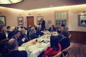 14 janvier 2014 : petit-déjeuner du Club de l'Audace avec Philippe LEMOINE, Président du Forum Actions Modernité