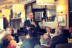 4 février 2014 : petit-déjeuner du Club de l'Audace avec Gérard LONGUET, ancien Ministre, Sénateur de la Meuse