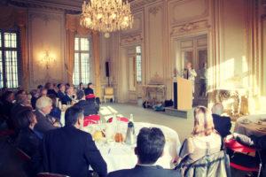 13 mars 2014 : petit-déjeuner du Club de l'Audace avec le Général de corps d'armée Hervé CHARPENTIER, Gouverneur militaire de Paris