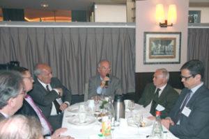 24 avril 2014 : petit-déjeuner du Club de l'Audace avec Gilles CARREZ, Député du Val-de-Marne, Président de la commission des finances de l'Assemblée nationale
