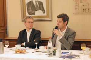 13 juin 2014 : petit-déjeuner du Club de l'Audace avec Jean-François JULLIARD, Directeur général de Greenpeace France