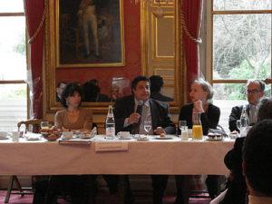 6 mars 2007 : petit-déjeuner du Club de l'Audace avec Yazid SABEG, Président de CS Communication et Systèmes