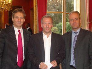 16 septembre 2009 : petit-déjeuner du Club de l'Audace avec Philippe LENTSCHENER, ancien président de Publicis France, fondateur de Valios