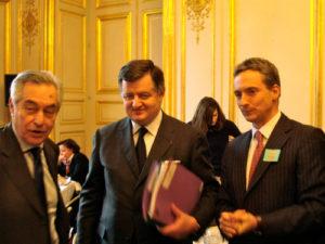 17 février 2010 : petit-déjeuner du Club de l'Audace avec Augustin de ROMANET, directeur général de la Caisse des Dépôts et Consignations