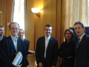 16 mars 2010 : petit-déjeuner du Club de l'Audace avec Thierry CAMMAS, PDG de MTV Networks France