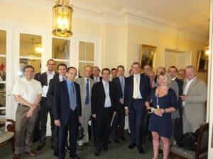 1er juillet 2010 : petit-déjeuner du Club de l'Audace avec Frank GARNIER, président du Groupe Bayer en France