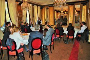 Petit déjeuner de Présentation de l'International Private Equity Market – IPEM qui aura lieu du 17 au 19 février 2016 à Cannes