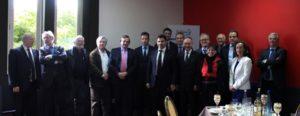 Déjeuner organisé le 7 mai 2015 au Centre Pénitentiaire de Fresnes, autour d'un certain nombre de personnalités qui sont intervenues dans le cadre du Club de l'Audace