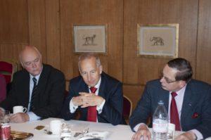 13 novembre 2015 : petit-déjeuner du Club de l'Audace avec Son Excellence Sir Peter RICKETTS, Ambassadeur du Royaume-Uni en France