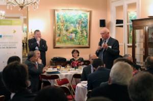Petit déjeuner organisé à l'Assemblée Nationale pour évoquer les atouts fiscaux du département des Ardennes