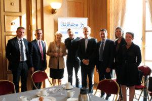 6 septembre 2017 : petit-déjeuner du Club de l'Audace avec Thierry PETIT, Cofondateur et Co-CEO de Showroomprive.com