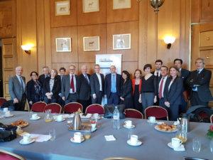 23 janvier 2018 : petit-déjeuner du Club de l'Audace avec Pierre-André IMBERT, Conseiller Social à la Présidence de la République