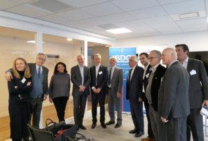8 février 2018 : petit-déjeuner du Club de l'Audace François PEROL, Président du Directoire de BPCE