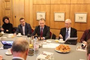 20 décembre 2017 : Petit déjeuner du Club de l'Audace avec Yves MILLARDET, Président du Directoire de l'Agence France Locale