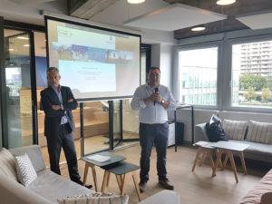 Conférence n°1/3 chez F-Iniciativas, partenaire de Thomas Legrain pour le Tor des Géants 2018 – « Comment le sportif peut-il inspirer le manager ? Vivre ensemble le Tor des Géants »