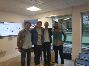25 septembre 2018 : Petit déjeuner avec Benjamin FERRE, Entrepreneur (fondateur d'IMAGO, 1er incubateur d'aventures en France) et aventurier (tour du monde en stop, transatlantique sans GPS, …)